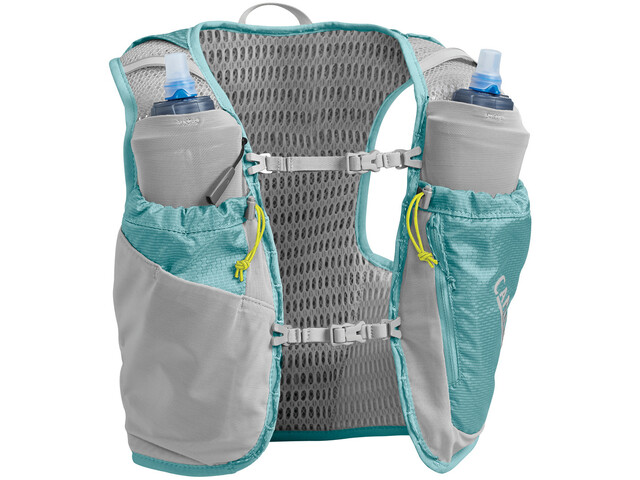 CamelBak Ultra Pro Chaleco de hidratación Mujer, aqua sea/ silver